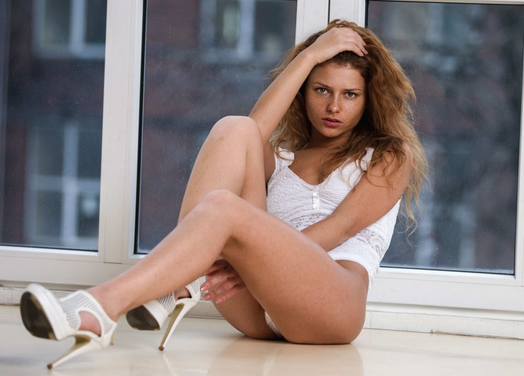 London Escorts - Fire In Her Hair